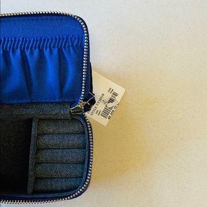 Handbags - Ring Jewelry Case | Purple Travel Zipper Carry On